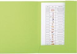 Dossiermap Exacompta Forever A4 2 kleppen 290gr groen