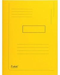 Dossiermap Exacompta Forever A4 2 kleppen 290gr geel