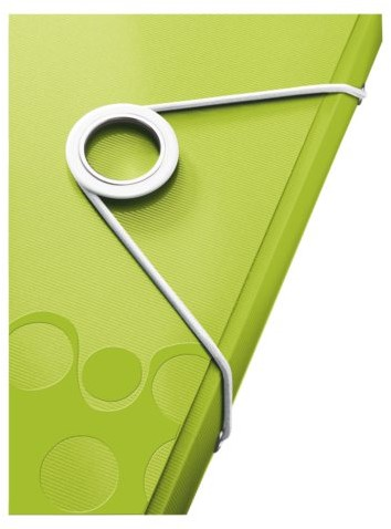 Elastomap Leitz WOW 3-kleps A4 PP groen-3
