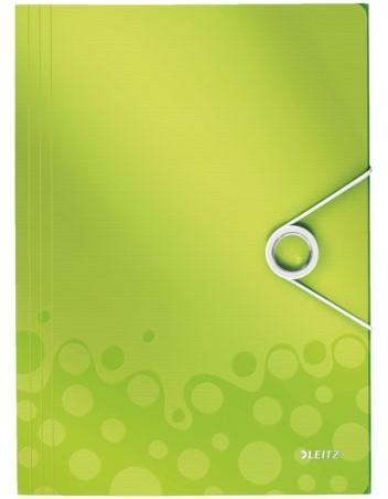 Elastomap Leitz WOW 3-kleps A4 PP groen-2