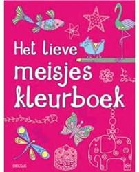Kleurboek Detlas het lieve meisje