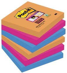Memoblok 3M Post-it 654 Super Sticky 76x76mm Bangkok