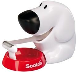 Plakbandhouder Scotch C31 hond + 1rol 19mm