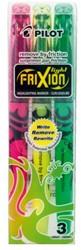 Markeerstift PILOT Frixion light lichtgroen-geel-roze
