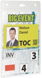Badge Durable voor evenementen A6 zonder koord
