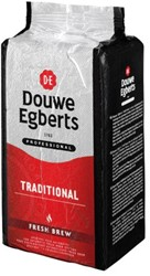 Koffie Douwe Egberts automatenkoffie fresh brew 1000gr
