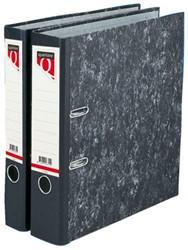 Ordner Quantore A4 80mm karton gewolkt