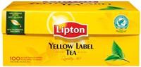 Thee Lipton Yellow label met envelop 100stuks-2