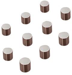 Glasbordmagneet Sigel Artverum 10mm nikkel 10stuks