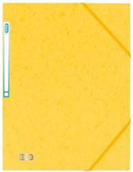 Elastomap Elba Eurofolio A4 met rugetiket geel
