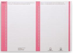 Ruiterstrook Elba Nr 8 138x60mm lateraal roze
