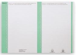 Ruiterstrook Elba Nr 8 138x6mm lateraal groen