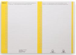 Ruiterstrook Elba Nr 8 138x60mm lateraal geel