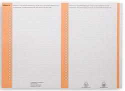 Ruiterstrook Elba Nr 8 lateraal oranje