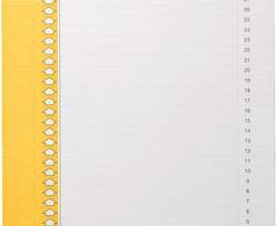 Ruiterstrook Elba N 0 297x6mm verticaal geel