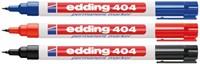 Viltstift edding 404 rond rood 0.75mm-2