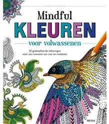 Kleurboek Deltas volwassenen mindful kleuren