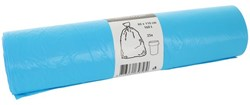 Afvalzak Blinc 80x110cm 16micron 160liter blauw