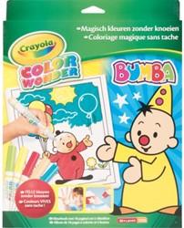 Kleur box Crayola Color Wonder Bumba