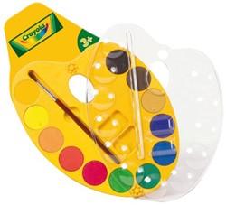 Waterverf Crayola schilderspalet 12 kleuren
