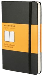Notitieboek Moleskine lijn pocket 90x140mm