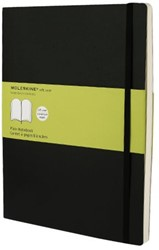 Notitieboek Moleskine blanco XL 190x250mm zachte kaft