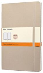 Notitieboek Moleskine large 130x210mm lijn kaki beige