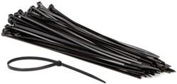 Inbindstrips Budget nylon 4,8x300mm Ø81mm zwart