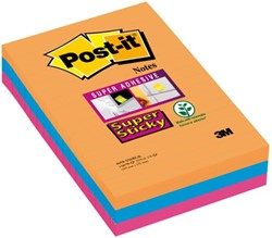 Memoblok 3M Post-it 4690 Super Sticky 101x152mm Bangkok