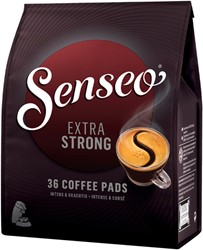 Koffiepads Douwe Egberts Senseo extra strong 36 stuks