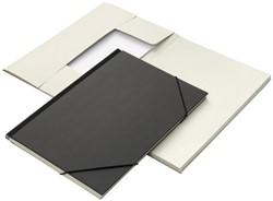 Combinatiemap Jalema folio 6 vakken 240gr zwart