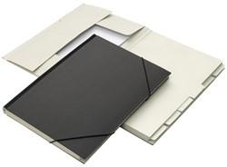 Combinatiemap Jalema 12 vaks met tab folio zwart