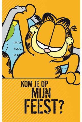 Uitnodiging Garfield