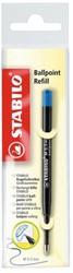 Balpenvulling STABILO standaard blauw  blister à 1 stuk