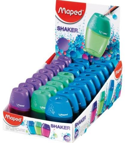 Puntenslijper Maped Shaker 1gaats assorti-3