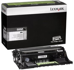 Drum Lexmark 50F0Z00 zwart
