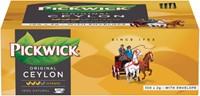 Thee Pickwick Ceylon 100 zakjes van 2gr met envelop