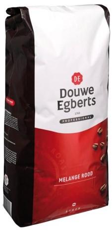 Koffie Douwe Egberts bonen fresh melange Rood 3000gr-1