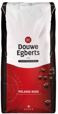 Koffie Douwe Egberts bonen fresh melange Rood 3000gr-2