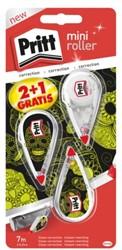 Correctieroller Pritt Mini 4.2mm 2+1 gratis monster