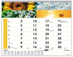 Maandkalender 2019 motief vier seizoenen