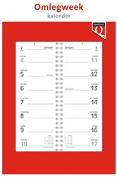 Weekomlegkalender 2021 Quantore