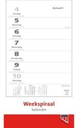 Weekspiraalkalender 2021 Quantore