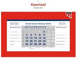 Kwartaalkalender 2021 Quantore