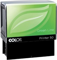 Tekststempel Colop 20 green line+bon 4regels 38x14mm-2