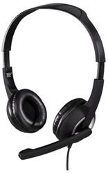 Hoofdtelefoon Hama HS300 On Ear zwart