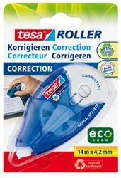 Correctieroller Tesa Eco navulbaar 4.2mm op blister