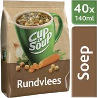 Cup-a-soup machinezak rundvlees met 40 porties