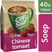 Cup-a-soup machinezak Chinese tomaat met 40 porties