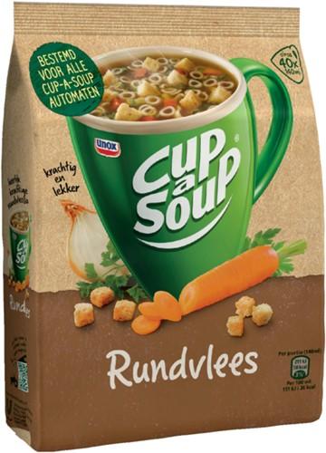 Cup-a-soup machinezak rundvlees met 40 porties-3